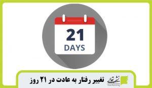تغییر رفتار به عادت در ۲۱ روز